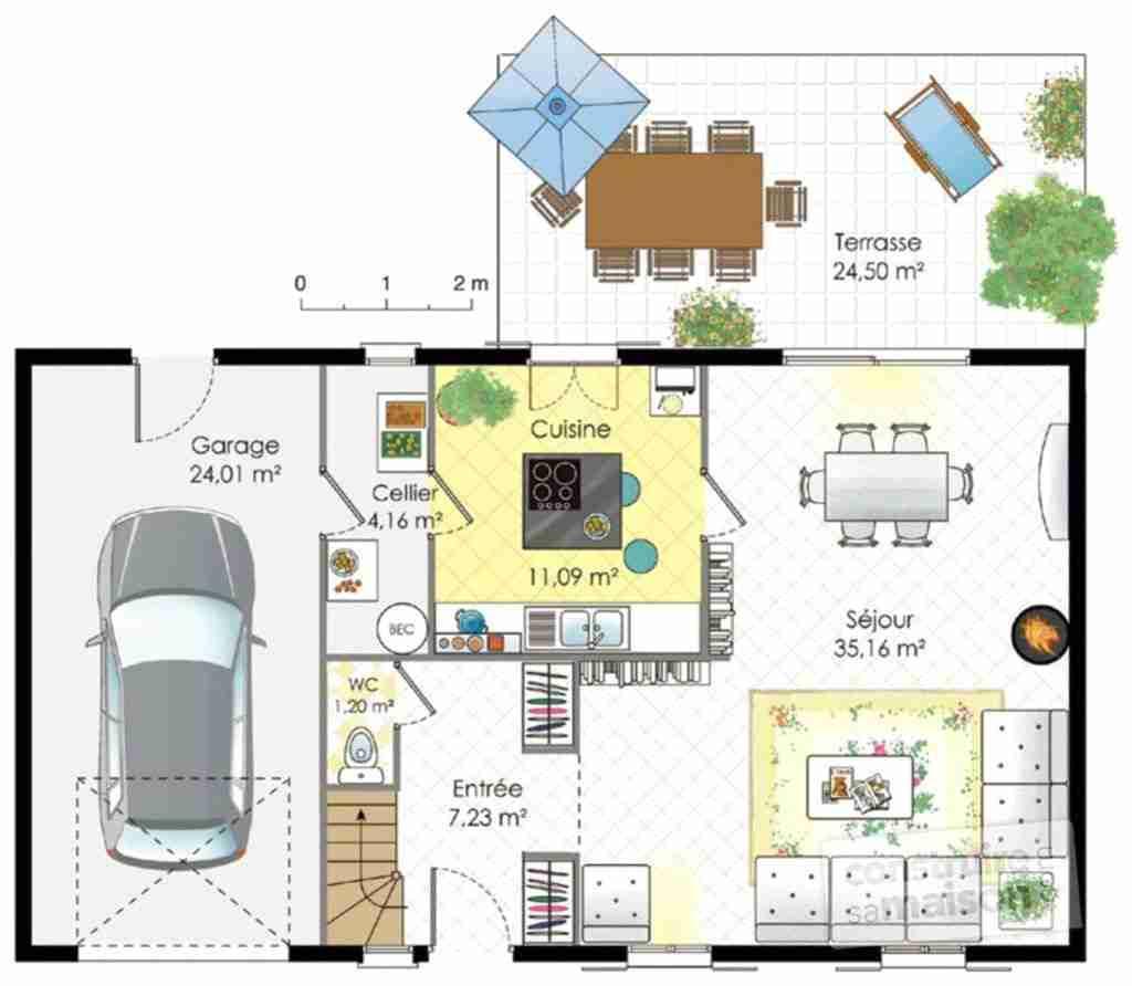 Dessiner le plan de ma maison gratuit