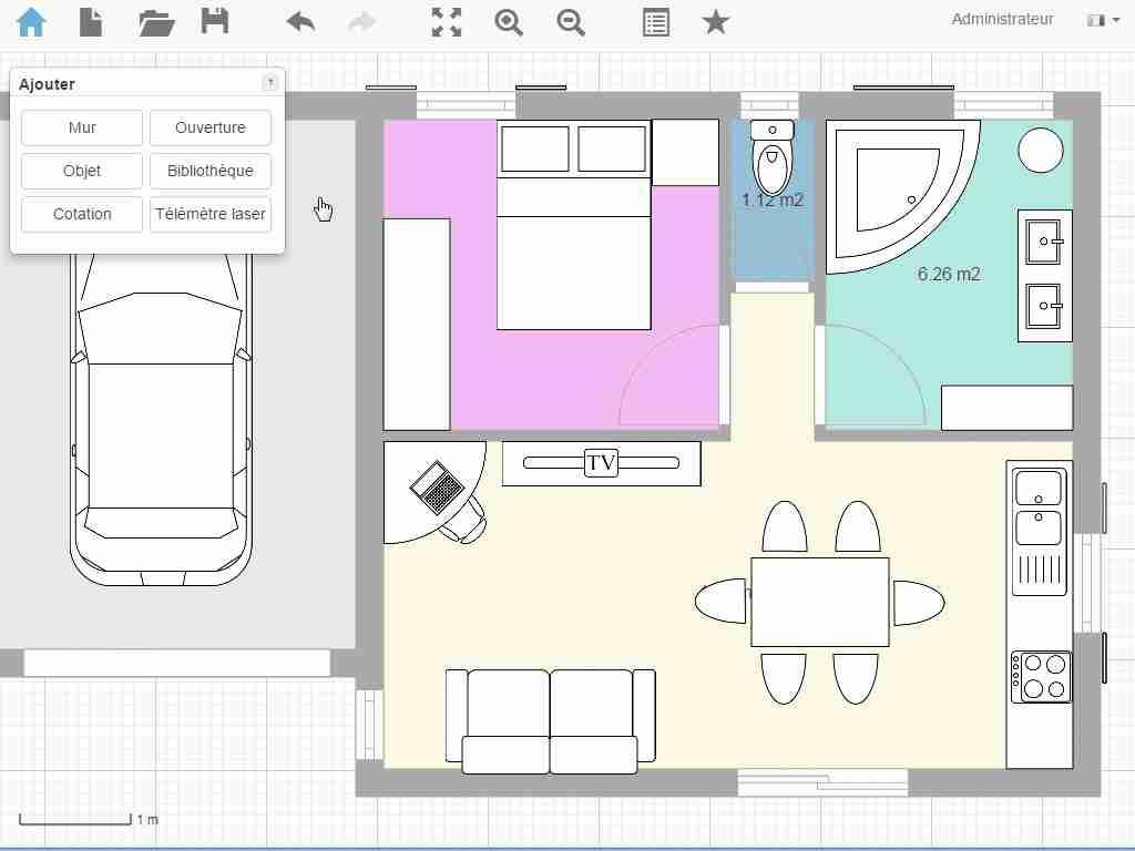 Logiciel conception plan maison gratuit ventana blog - Logiciel pour dessiner plan de maison ...