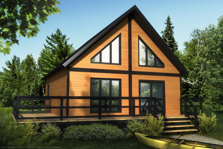 Maison et chalet en bois plan de campagne ventana blog - Plan de maison campagne ...