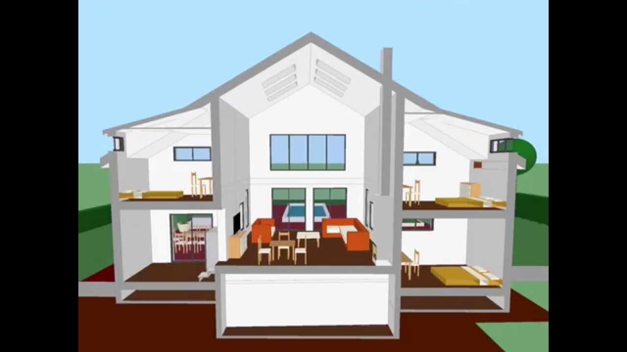 Plan maison 3d jeux