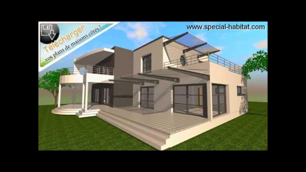 Maison de luxe et plan