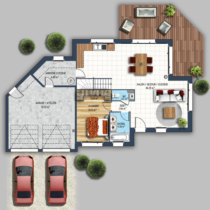 Plan De Maison Dans Le Morbihan Idées De Travaux