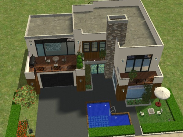 Plan maison sims 4 pc - Idées de travaux