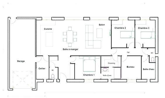 Plan de masse d'une maison individuelle - Idées de travaux