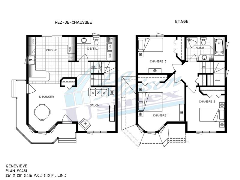 plan de maison victorienne id es de travaux. Black Bedroom Furniture Sets. Home Design Ideas