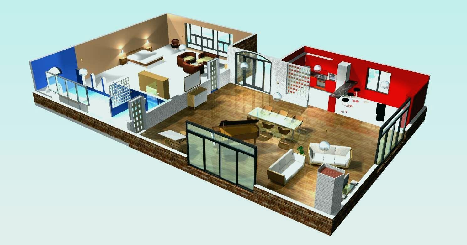 Plan de maison 3d en ligne gratuit