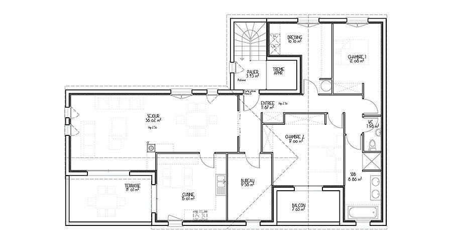 Architecture plan de maison - Idées de travaux