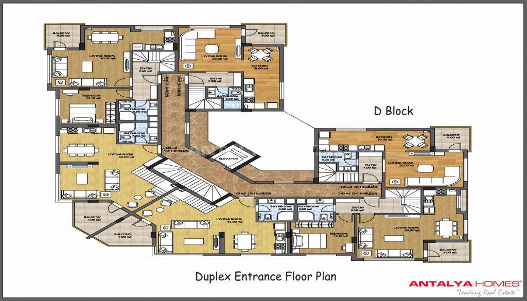 Plan villa de luxe plain pied