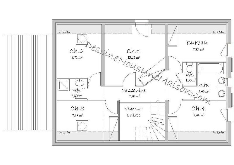 Creer Plan De Maison Simple Idees De Travaux
