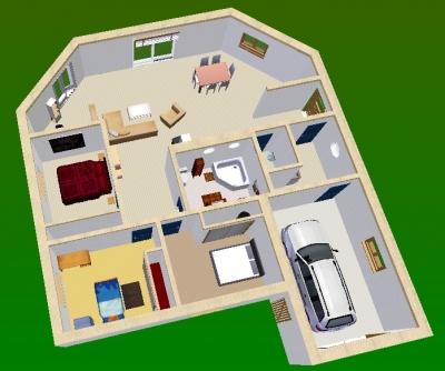 Faire un plan en 3d de sa maison id es de travaux - Faire un plan de maison en 3d ...