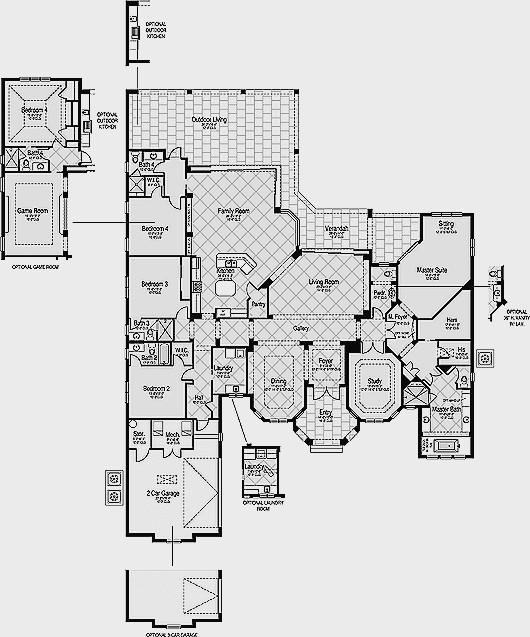 Plan de maison de luxe etage - Idées de travaux