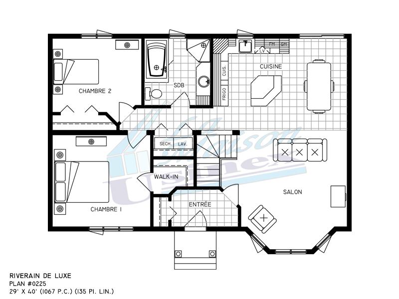 Plan de maison americaine de luxe - Idées de travaux