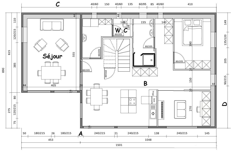 Plan De Maison Moderne Gratuit En Cote D Ivoire | Ventana Blog