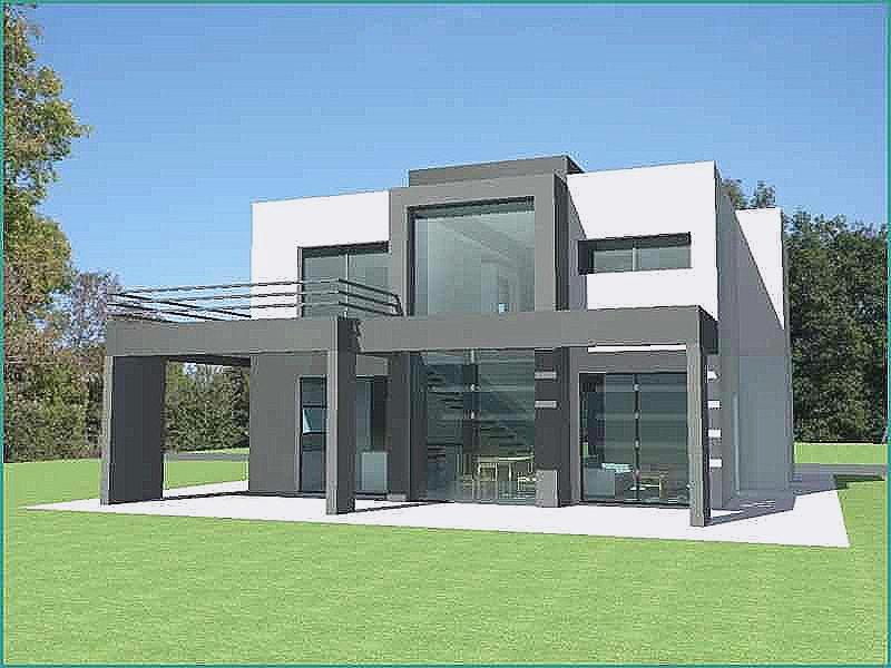 Plan de maison a toit plat gratuit id es de travaux - Plan maison toit plat gratuit ...