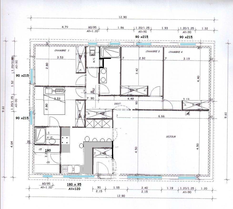 Plan Maison 180 M2 Plain Pied | Ventana Blog
