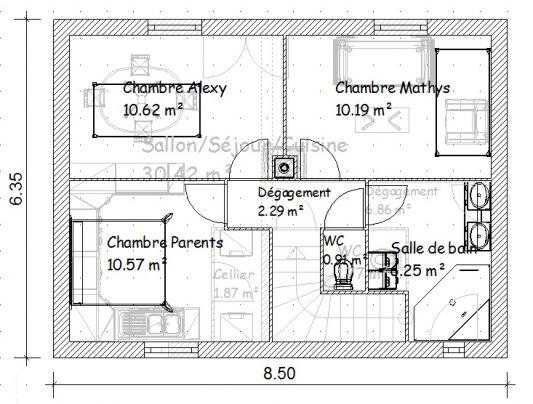Exemple de plan de maison 150m2 - Idées de travaux