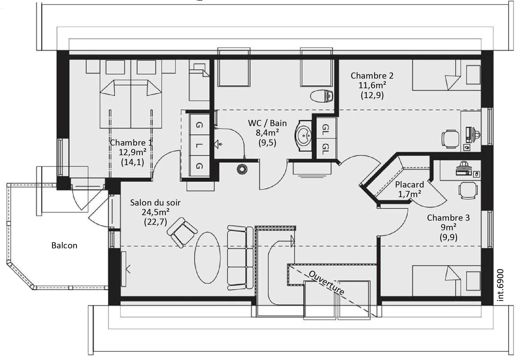 Plan de maison bois sur pilotis - Idées de travaux