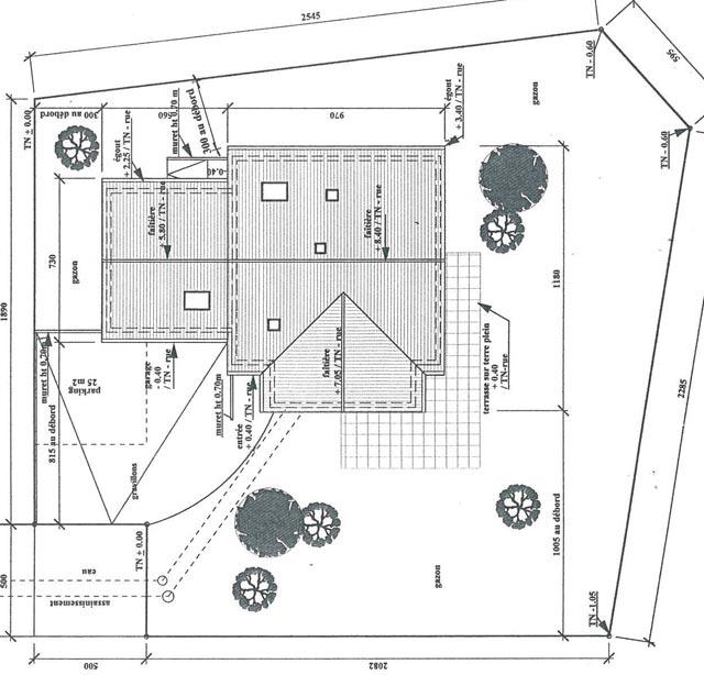 Plan De Situation D Une Maison Idees De Travaux