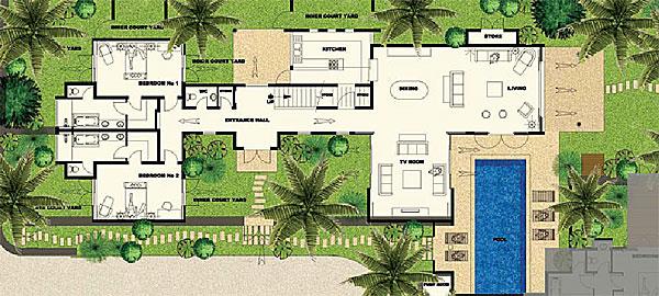 Plan dune maison de luxe - Idées de travaux