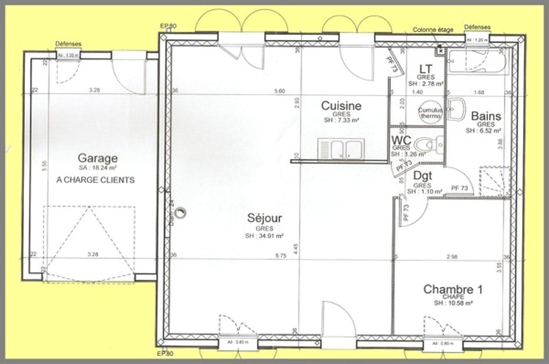 Interieur De Maison Plan Idees De Travaux