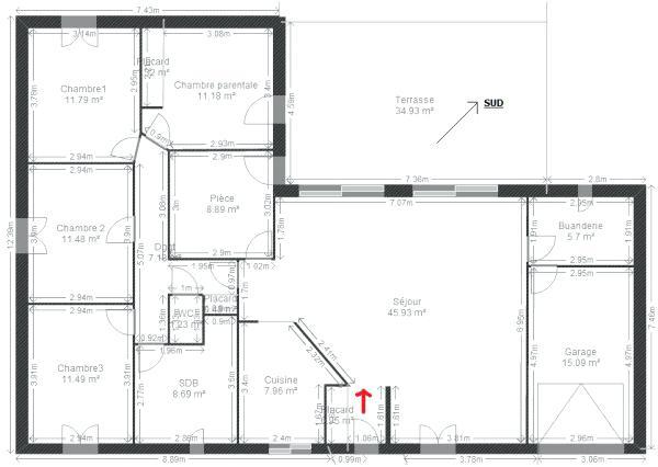 Plan Maison Plein Pied 120M2   Ventana Blog