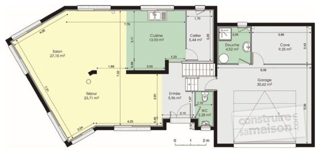 Plan De Maison 150m2 Etage Idees De Travaux