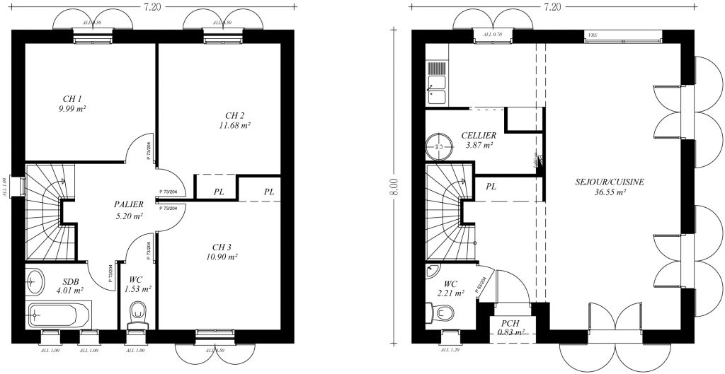 Autocad plan de maison - Idées de travaux