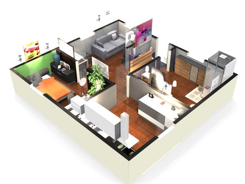 Plan de maison gratuit en 3 d