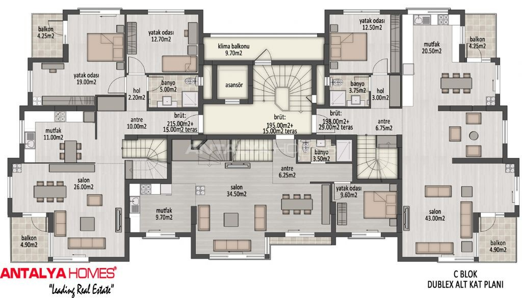 Superieur Plan De Villa De Luxe En 3d