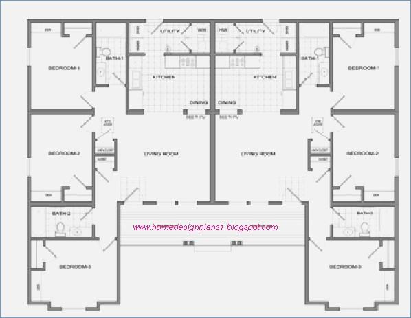 Plan Maison En U 6 Chambres Idées De Travaux