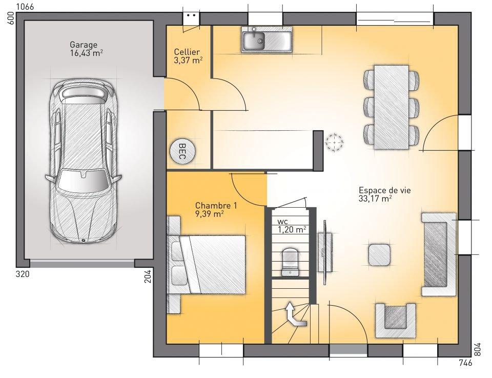 Plan de maison r 3 gratuit id es de travaux - Plan maison neuve gratuit ...