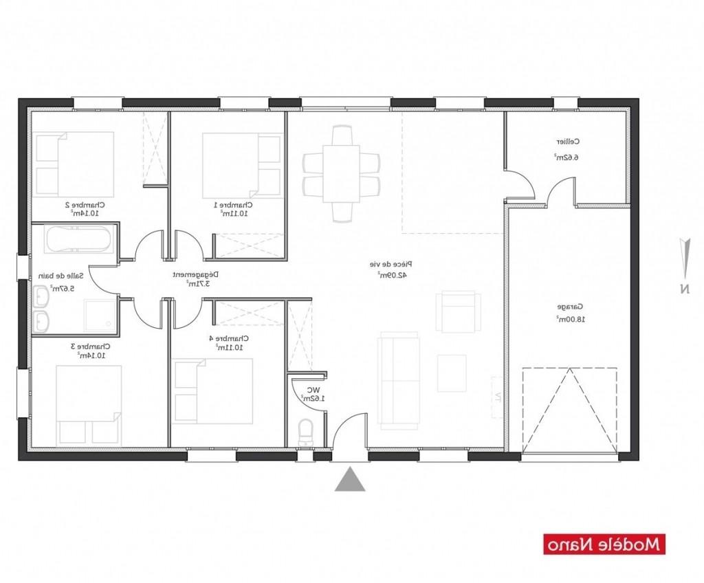 Plan de maison 1 chambre gratuit