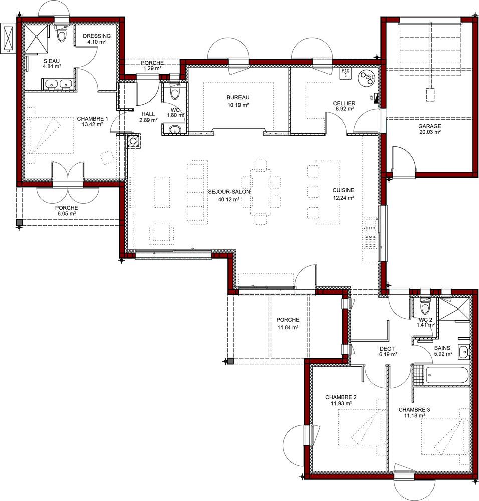 Je veux faire un plan de maison id es de travaux - Faire des plans de maison ...