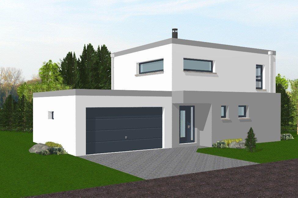 Plan De Maison Toit Terrasse Gratuit Idees De Travaux