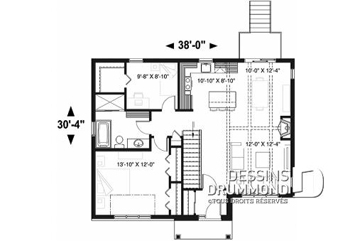 Plan de maison ville de quebec id es de travaux - Plan de maison quebec ...