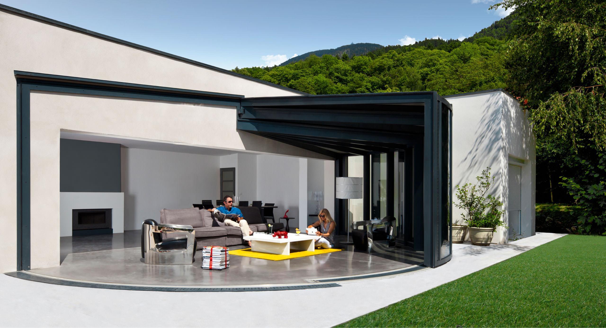 Plan maison moderne avec veranda - Idées de travaux