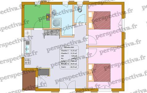 Plan Mini Maison 2 Chambres Idees De Travaux