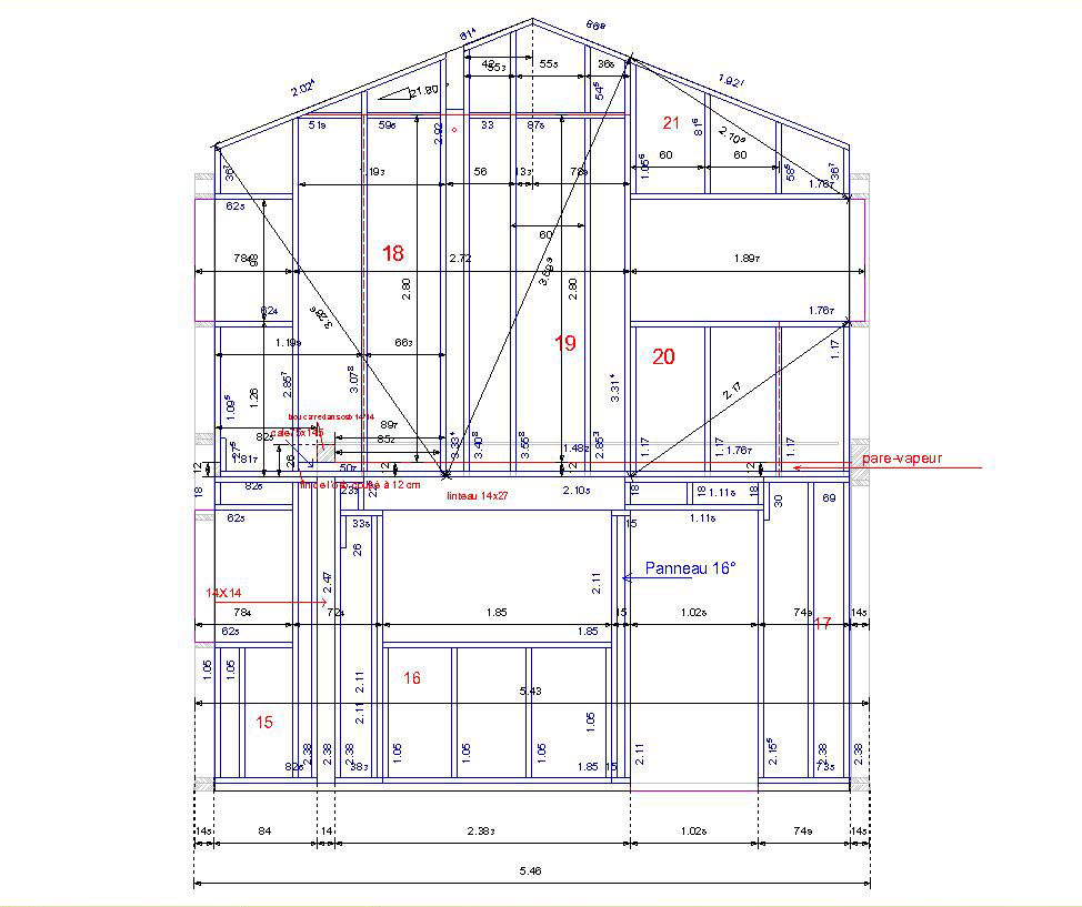 Plan Coupe Maison: Plan De Coupe Maison Ossature Bois