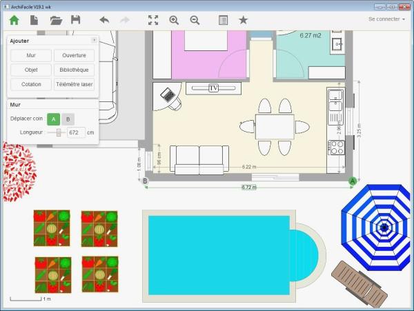 Dessiner plan de maison facile ventana blog - Logiciel pour dessiner plan de maison ...