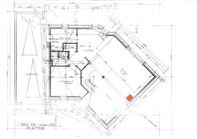Plan de masse vieille maison id es de travaux - Plan de masse d une maison ...