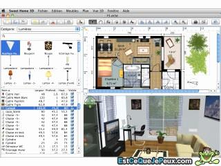 logiciel gratuit pour faire un plan de maison en 3d