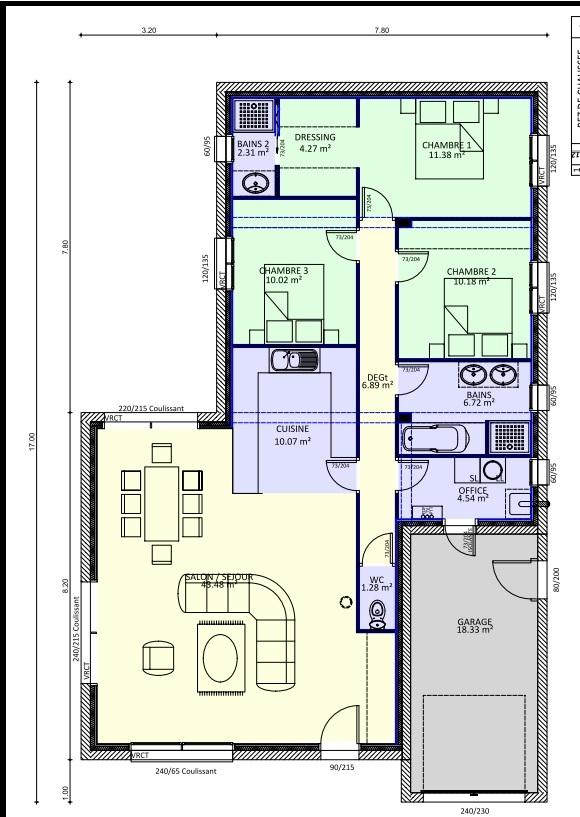 Faire un plan de maison sur terrain - Idées de travaux