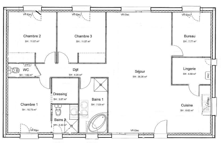 Plan de construire d'une maison - Idées de travaux