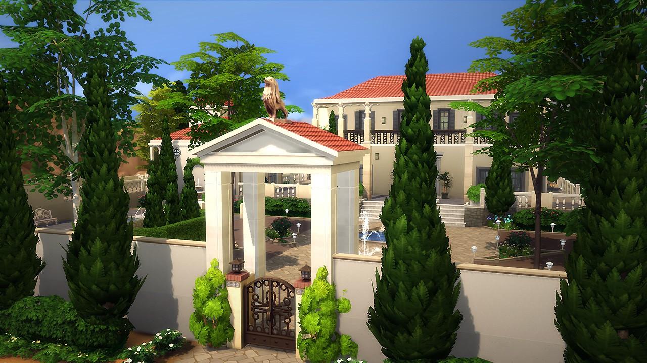 maison de luxe plan sims 4 id es de travaux. Black Bedroom Furniture Sets. Home Design Ideas