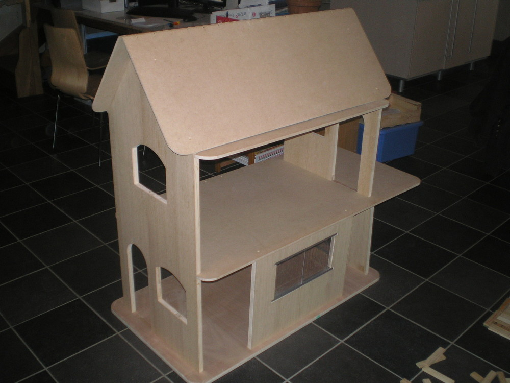 Plan de maison en bois pour barbie id es de travaux - Plan de maison de barbie ...