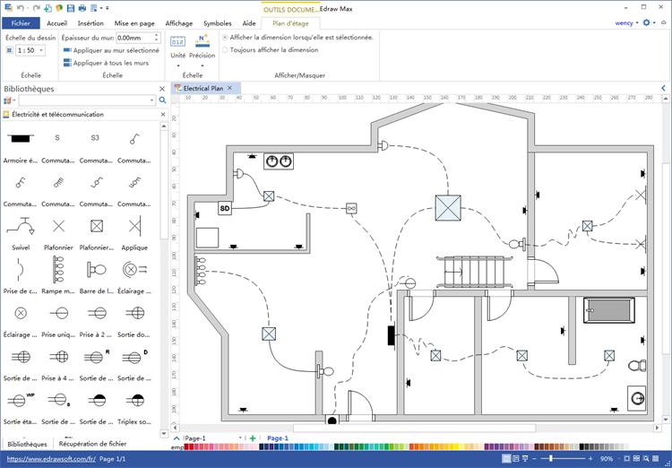 Faire un plan electrique de sa maison - Idées de travaux
