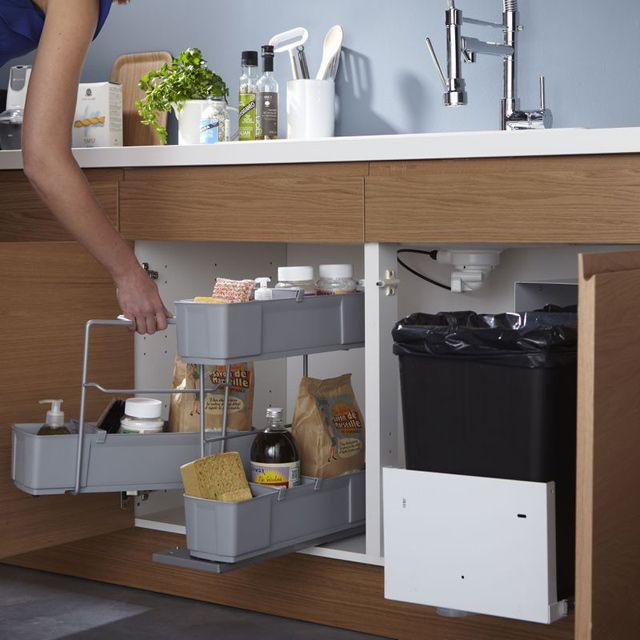 Ikea rangement meuble sous evier - Idées de travaux