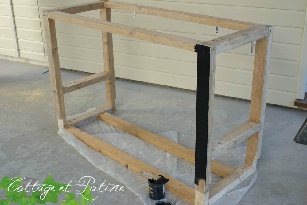 Fabriquer un meuble sous evier id es de travaux - Monter un meuble sous evier ...