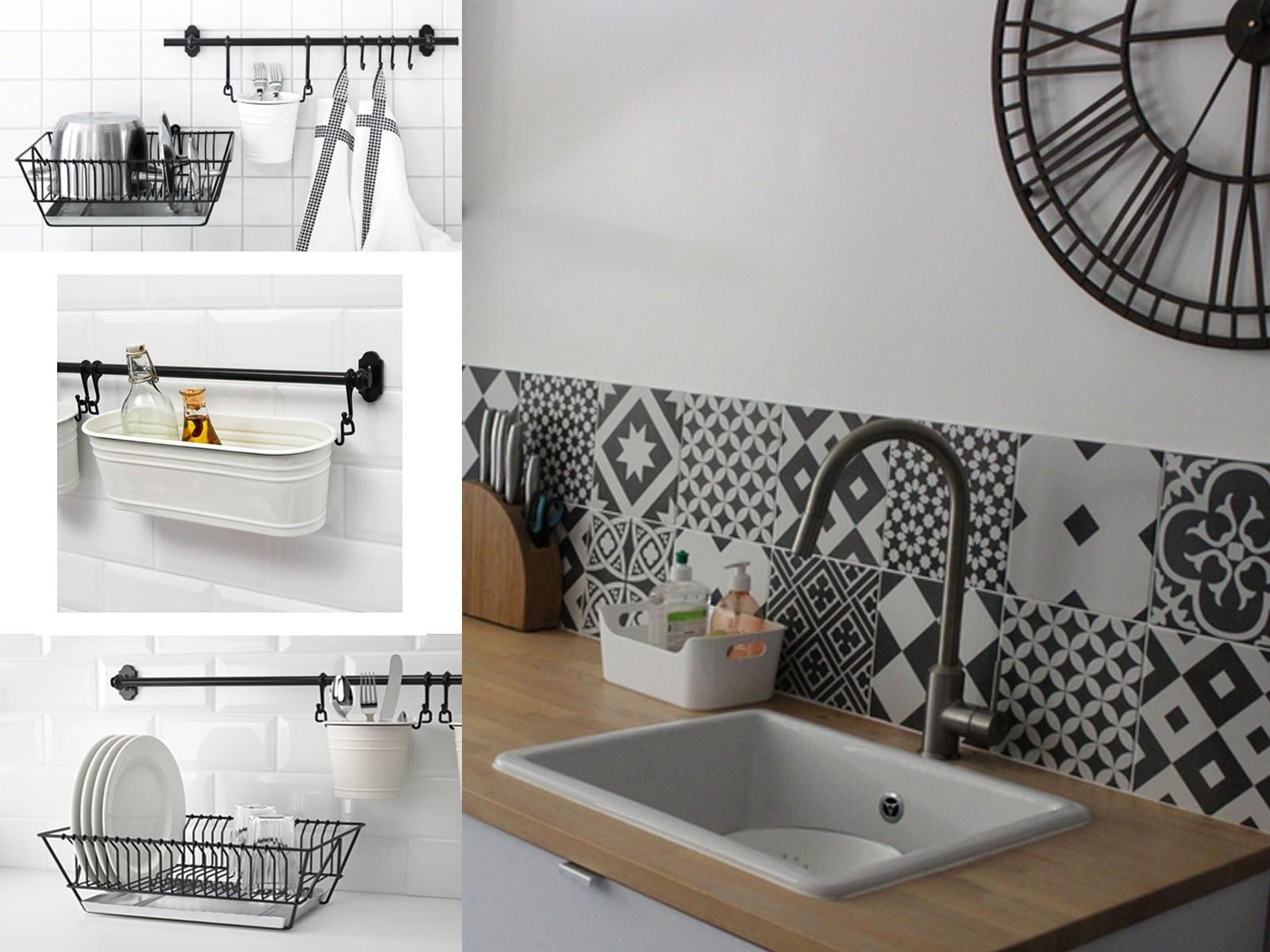 ikea evier a poser domsjo id es de travaux. Black Bedroom Furniture Sets. Home Design Ideas