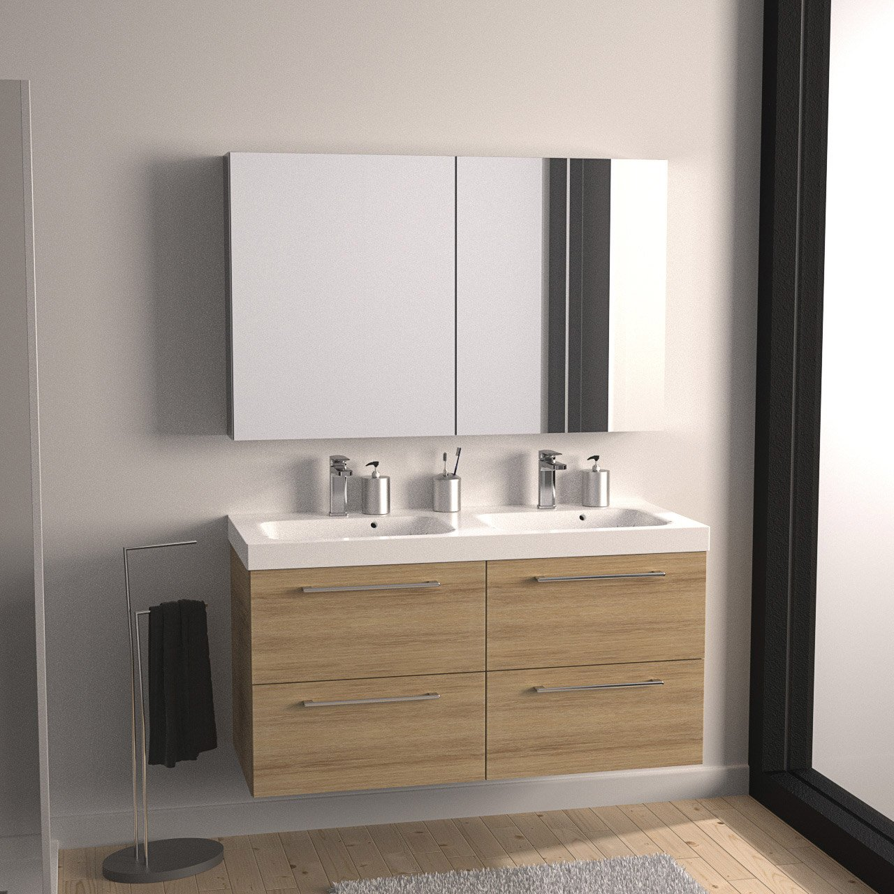 Meuble sous evier salle de bain brico depot id es de travaux - Mitigeur salle de bain brico depot ...